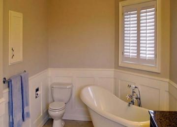 Стеклообои для ванной комнаты — плюсы и минусы, разновидности, наклеивание