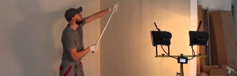 Как шпаклевать гипсокартон под обои своими руками