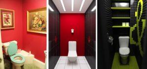 Обои для туалета в квартире — фото дизайна, выбор, поклейка