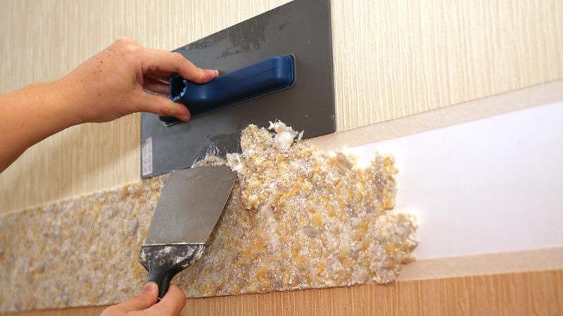 Преимущества жидких обоев для потолка